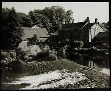 Glass Magic Lantern Slide Killinghall Mills Nr Harrogate Yorkshire C1930 Photo
