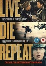 LIVE DIE REPEAT EDGE OF TOMORROW New Sealed DVD Tom Cruise Emily Blunt