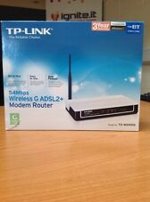 TP-Link 54Mbps Wireless G ADSL2+ Network Starter Kit Modem Router