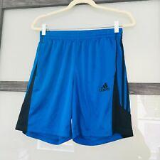 Blue Adidas ClimaLite Exercise Shorts, Size Men's S