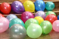 "100 pcs12""Multi Colour Latex Pearl Balloons Birthday Wedding Party Pannu Balloon"