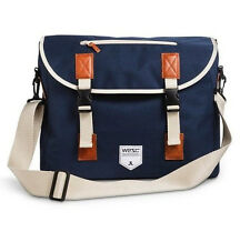 WeSC Men's Luken Messenger Bag - Navy