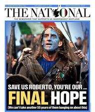 More details for the national newspaper: roberto mancini braveheart