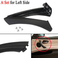 Car Left Side Inner Door Panel Handle Pull Trim Cover Decoration For BMW E90 318