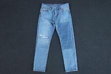 NEW Sample Levis 501 Patchwork Denim Jeans Size 28 29 Light Wash Mom Boyfriend