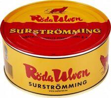 Röda Ulven Surstromming Swedish Fermented Herring 650 g / 22.9 oz Made in Sweden