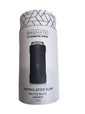 Brumate Hopsulator 12 oz Slim Insulated Can Cooler - Matte Navy