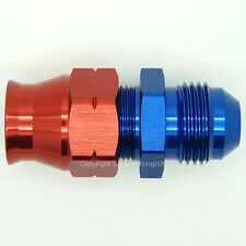 AN-6 Straight MALE to 5/16 8mm HARDLINE TUBE Compression Pipe Fitting Adapter