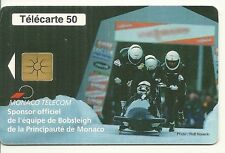 RARE / CARTE TELEPHONIQUE - BOB BOBSLEIGH : PRINCE ALBERT 2 DE MONACO /PHONECARD