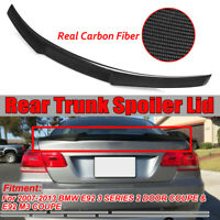 For BMW E92 Spoiler M4 Style 3 Series E92 & E92 M3 Carbon Fiber Coupe 2007-2013