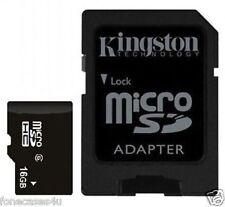 Schede di memoria per fotocamere e videocamere SDHC da 16 GB