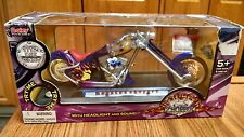 "BOLEY Monster Chopper Purple ""Arrow"" Chopper w/Sounds & Lights 1:12"
