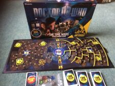 Doctor Who -The Time Wars - Board Game - 100% Complete FREE P&P