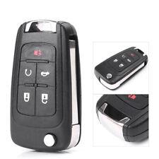 Folding Flip Remote Key Case Fob 5 Button Cover For Buick Lacrosse/Regal/Verano
