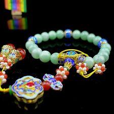 【JadeiteBird】10.0mm Certified 100% Natural Qing court 18 Jadeite Jade Beads