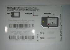 o2 Prepaid SIM Karte - Aktiv / Aktiviert / Registriert