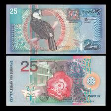 Suriname 25 Gulden, 2000, P-148, Banknote, UNC