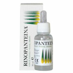 3 X Rinopanteina Nasal Drops 30ml exp2022/08