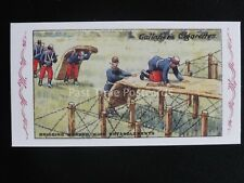 No.94 BRIDGING BARBED WIRE The Great War Series REPRO of Gallaher 1915