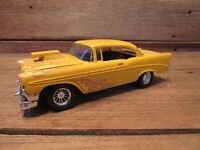 Vintage Custom 1956 CHEVROLET BELAIR Car Built Plastic Model Kit - JUNKYARD