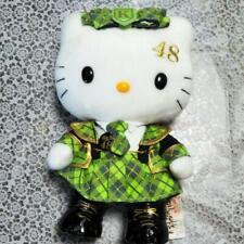 Hello Kitty AKB 48 Plush Doll Sanrio Mascot Japan idol Stuffed Cosplay Team K