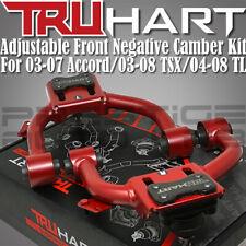Truhart Negative Front Camber Kit Combo for 04-08 Acura Tl Ua6 Ua7