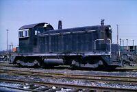 Original Slide McLouth Steel Railroad Switcher SW1 5 Flat Rock, MI 1974