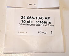 3 Paar Fleischmann 6519 H0 Ersatzschleiferkohlen und Federn