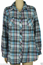 Unbranded Women's Check Semi Fitted Tops & Shirts