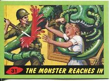 Mars Attacks Heritage Green Parallel Base Card #31    The Monster Reaches In