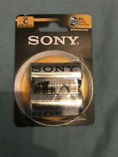 Sony C Cell Battery x 2 (Exp 2022)