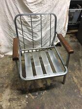 Vintage Mid Century Modern  Velvet Lounge Chair