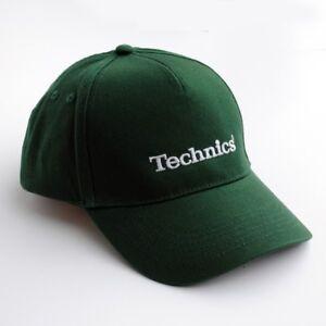 Technics Baseball Cap in Green - Official Merchandise