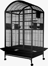 """New listing A&E® 36""""x28""""x65"""" ; Extra Large Dome Top Bird Cage with 1"""" Bar Spacing"""