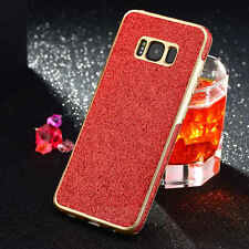 Luxury Bling Glitter TPU Protective Slim Case Cover For Samsung Galaxy S8 & S7
