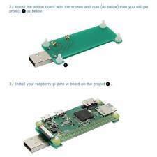 Raspberry Pi NULL NULL W-USB-A-Addon-Board USB Connector v1. 1-RPi0-Adapter