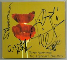 "SIGNED- The Legendary Pink Dots ""POPPY VARIATIONS"" CD 2004 TEKA 15 -AUTOGRAPHED"