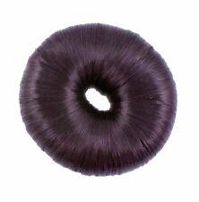 Dark Brown Faux Hair Doughnut Scrunchie Scrunchy Hair Bun Ring Hair Ring NEW
