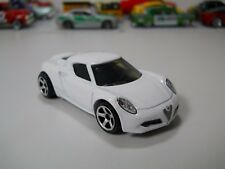 Matchbox Alfa Romeo 4C White Paint 1/64 Scale JC64