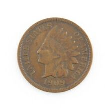 1909-S Indian Head Cent Penny 1c (VF) Very Fine Condition
