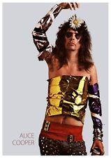 Alice Cooper POSTER **RARE AMAZING IMAGE** Billion Dollar Babies