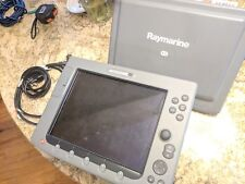 Raymarine E120 Multi Function Display W/ Sun Cover and Cables