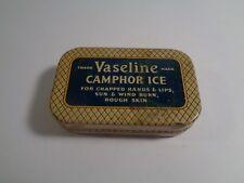 vintage Vaseline Camphor Ice Empty Tin 1-3/8 oz size
