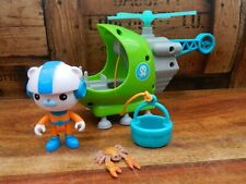 Octonauts Gup H with Captain Barnacles - Helicopter Playset