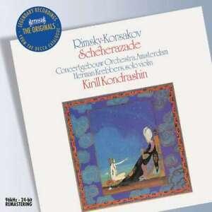 CD I Rimsky-Korsakov:Sheherazade & Borodin: Symphony No. 2 Kondrashin like new