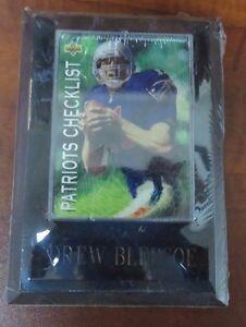 Drew Bledsoe Upper Deck 93 Trading Card Plaque