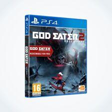 GOD EATER 2 : Rage Burst sur PS4 / Neuf / Sous Blister