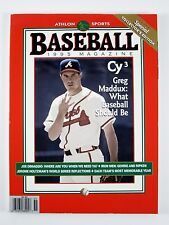 BASEBALL 1995 Magazine GREG MADDUX Atlanta Braves Cover *LIKE NEW* Athlon Sports