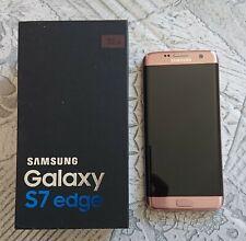SAMSUNG GALAXY S7 EDGE - PINK GOLD - 32 GB - 4G LTE - 4GB RAM - USATO OTTIMO