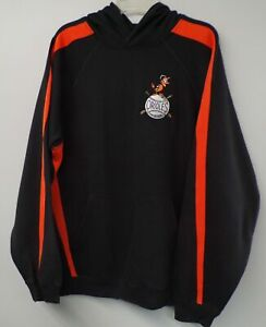 MLB Baltimore Orioles 1950's Logo Hooded Sweatshirt Size XL Browns Brand New